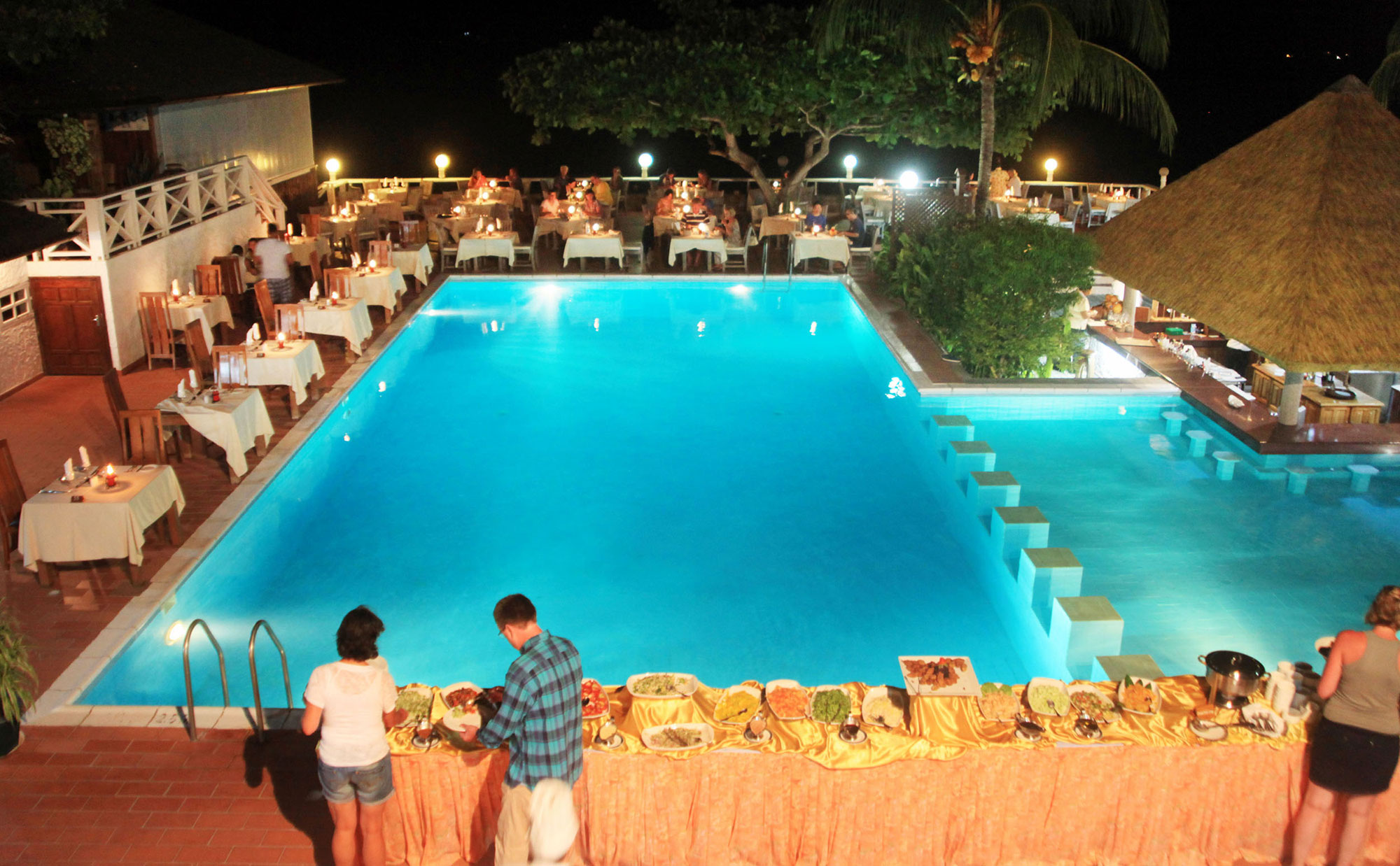The Pool Side Restaurant